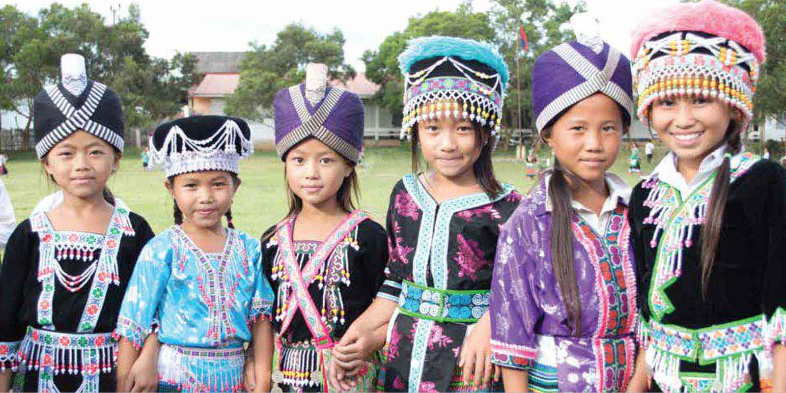 Traditional Laos Girls